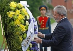Visita do Presidente Lula ao Túmulo do Soldado Desconhecido, na Rússia